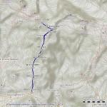castore mappa itinerario
