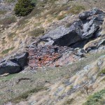 rudere sotto la pietra