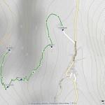 chevriere mappa itinerario