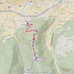 mont de poignon mappa itinerario