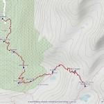 rif deffeyes mappa itinerario
