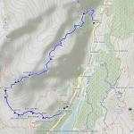 rif angeli bonne anello mappa itinerario