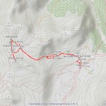 straffelgrat mappa itinerario