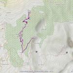 col plan fenetre mappa itinerario