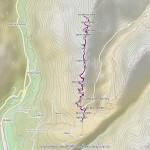 giovera mappa itinerario