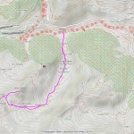 flassin-cordella mappa itinerario