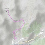 rif cretes seches,biv spataro mappa itinerario