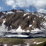 lago licony e a destra la testa di licony