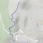 punta oilletta mappa itinerario
