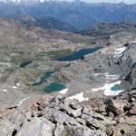 alcuni laghi del mont avic