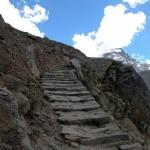 scalinata di pietre