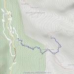 maison de chasse mappa itinerario