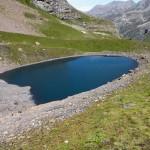 lac vert dal termine della morena