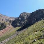 verso il promontorio roccioso