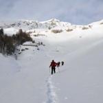 discesa dall'alpeggio