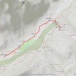 rif bonatti mappa itinerario