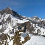 panorama a nord con al centro la punta rabuigne