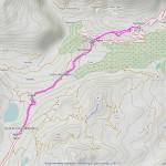 colle piccolo s. bernardo mappa itinerario