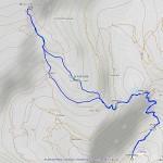 bivacco rosazza mappa itinerario