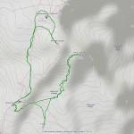 Punta Giordani-Piramide Vincent-Balmenhorn-rif Mantova mappa itinerario