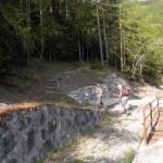 sentiero alle opere idriche