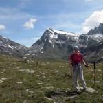 al colle col mont gelè sullo sfondo