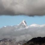 grandes jorasses compresse dalle nuvole