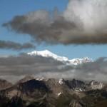 monte bianco e mont maudit