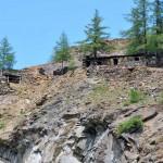 zoomata sulle vecchie miniere
