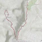 punta maurin mappa itinerario