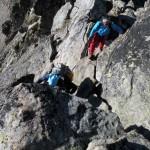 facili passaggi sulle rocce