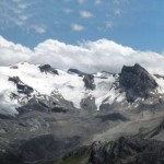 ghiacciai dell'alta valle di rhemes