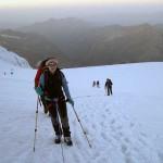 alba sul ghiacciaio del garstelet