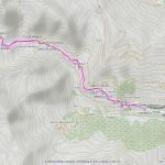 rif frassati mappa itinerario