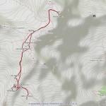 rif gnifetti,cap margherita balmenhorn mappa itinerario