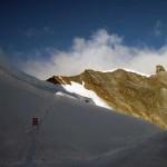 si abbandona la pista da sci