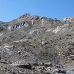 mont fourchon e a destra la cresta di salita