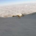 pendio del ghiacciaio del Lys