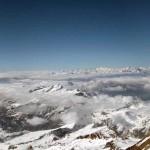 panorama verso piemonte e valle d'aosta