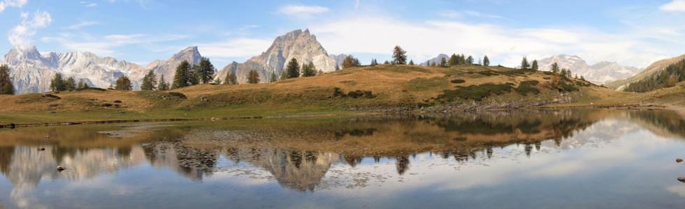 Lago alto del Sangiatto (2043 m)
