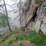 sentiero alla bastionata