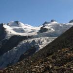 dalla morena il fronte del ghiacciaio della tribolazione