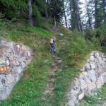 sentiero dalla poderale quota 1504