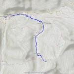 bivacco devis gerard (nuovo sentiero) mappa itinerario