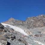 vallone al piede del ghiacciaio
