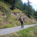 sentiero dalla poderale quota 1676