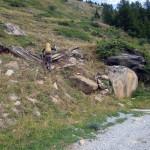 sentiero dalla pietra a quota 2003