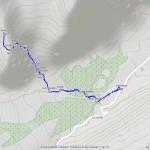 rif monzino mappa itinerario