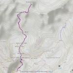 tete blanche de by mappa itinerario