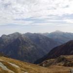 panorama verso il confine piemontese